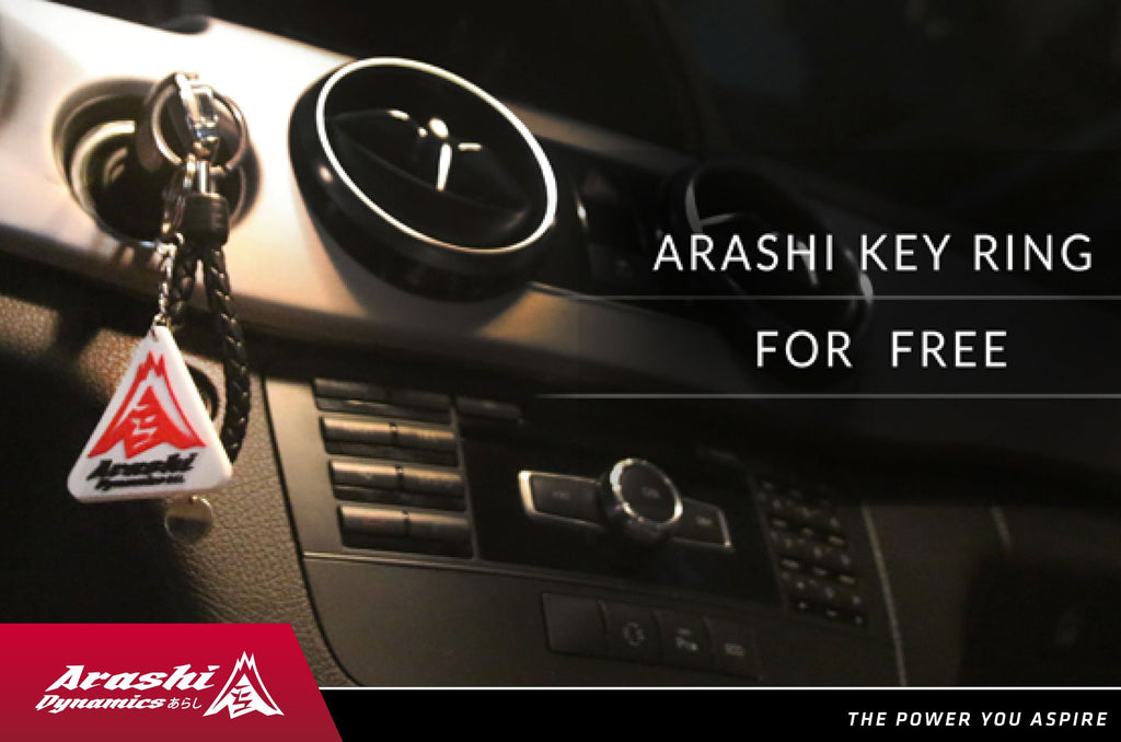 ARASHI KEY RING FOR FREE!