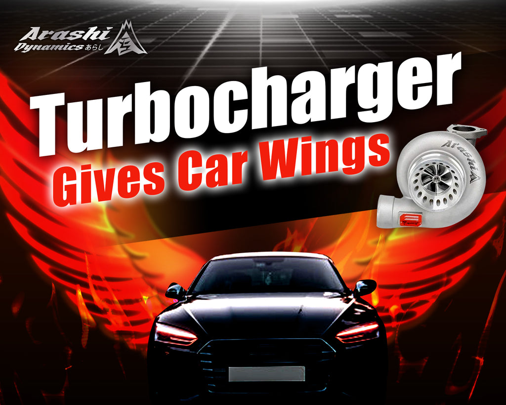Turbocharger Gives Car Wings