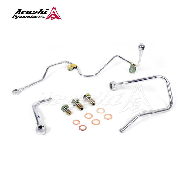Mitsubishi Lancer 4B11T EVO X TD05H TD05HA Turbo Oil Water Pipe Line Kit