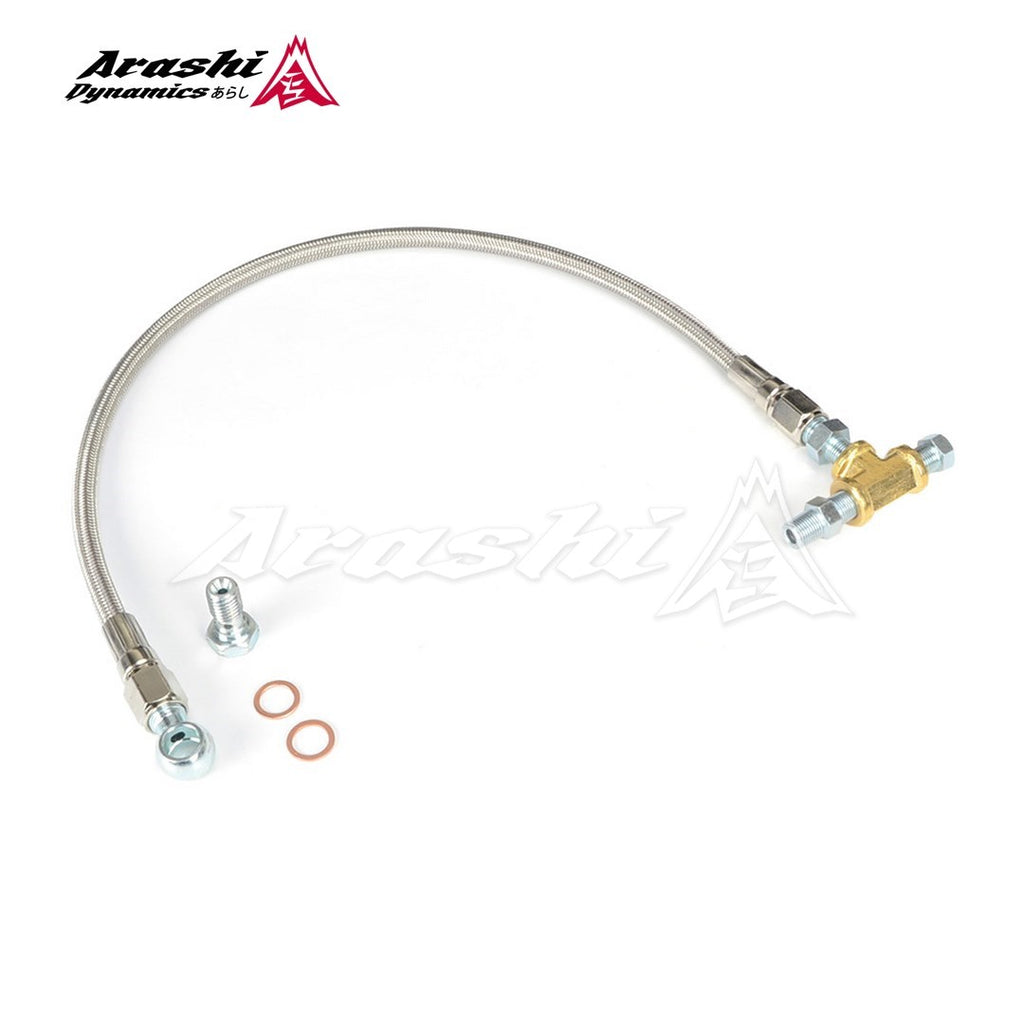 Garrett T2 T25 T28 GT25R GT28R Ball Bearing Turbo Oil Feed Line Kit