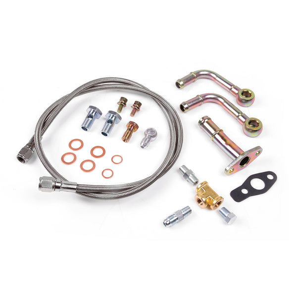 Universal Kit For Mitsubishi TF035HM TD04 Turbo Oil Water Line Kit