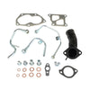 Mitsubishi 4G63T Lancer EVO 9 EVO 4 5 6 7 8 TD05HR Turbo Oil Water Line Pipe Kit