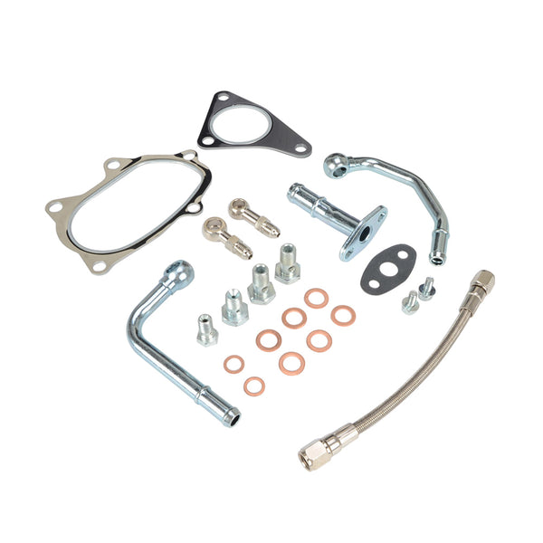 SUBARU EJ20 EJ25 RHF55 RHF5HB VF22 VF28 VF29 VF34 Turbo Oil Water Line Kit