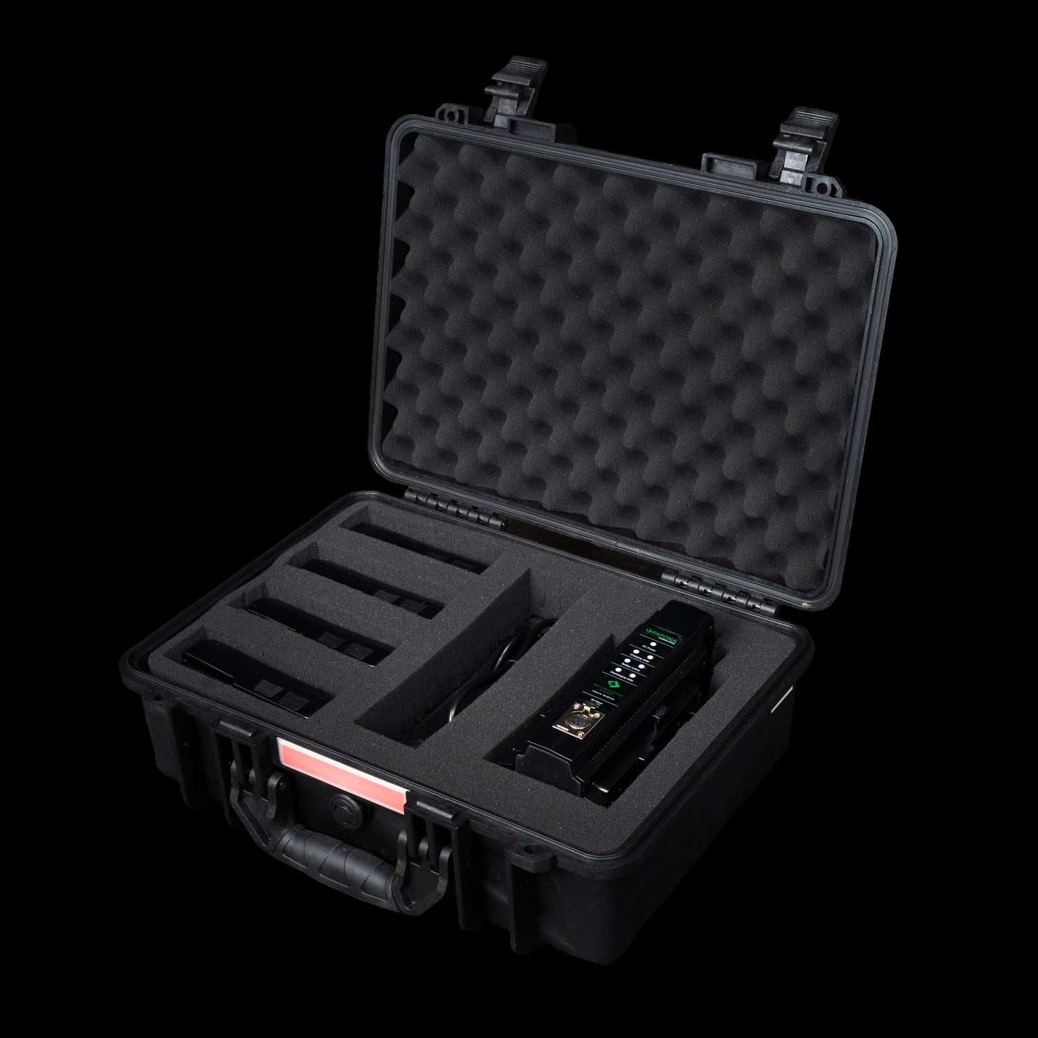Patona 4x V-Mount Battery Pack with Charger & Hard Case