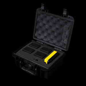 Patona 4x NPF Battery Pack with Charger & Hard Case