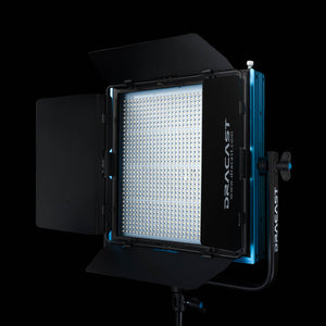 Dracast Barndoors for LED1000 Pro Plus open