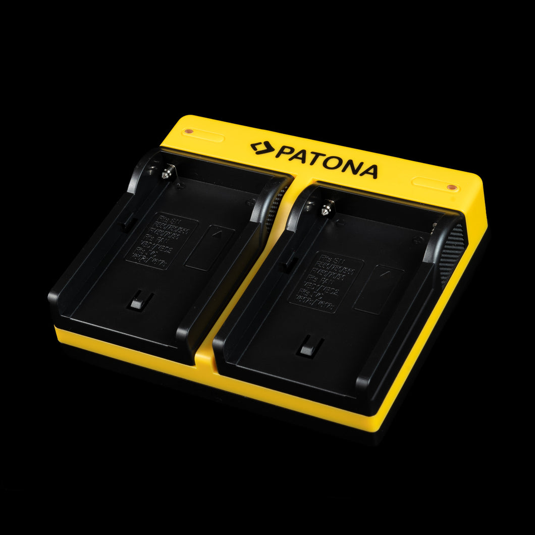 Patona Dual NPF Battery Charger