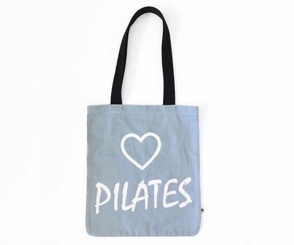MoveActive Love Pilates Tote Bag - Sky Blue