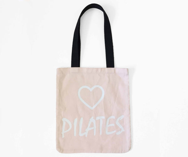 MoveActive Love Pilates Tote Bag - Salmon
