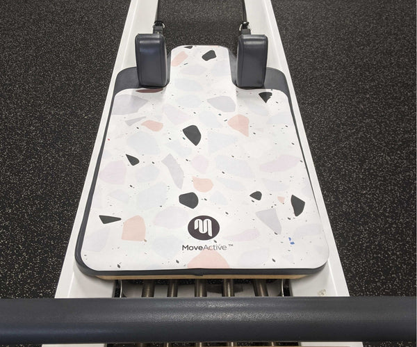 Eco Pilates Hygiene Mat -Terrazzo - PRE ORDER AVAILABLE NOW