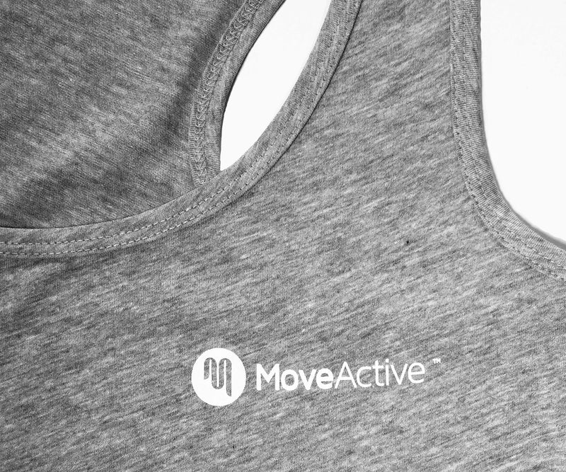 MoveActive RACERBACK SINGLET Grey Marle