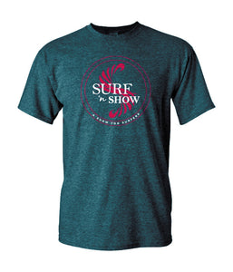 A Show for Surfers - TShirt - Heather Navy