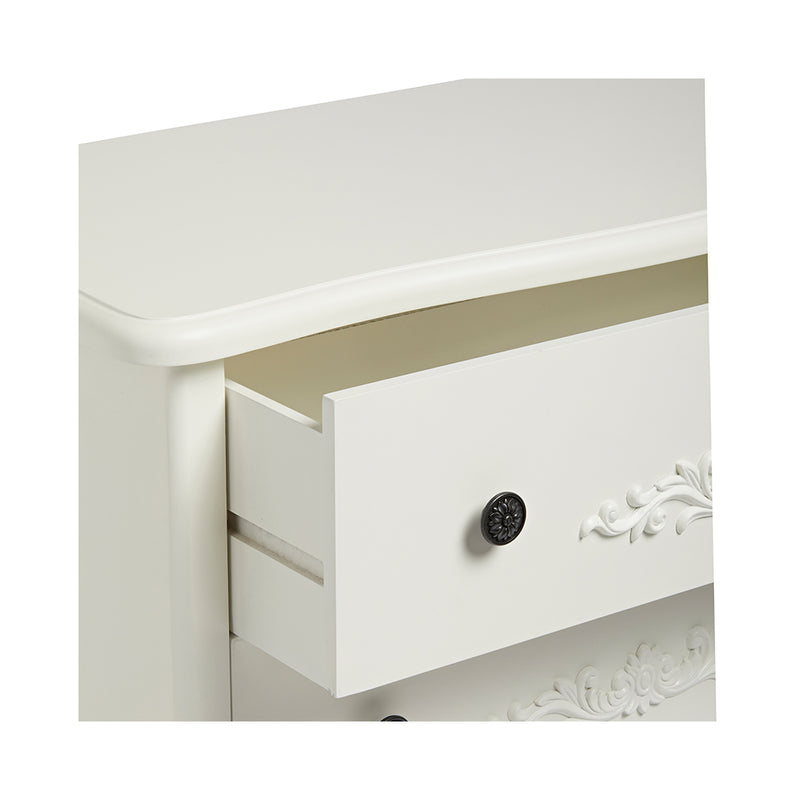 LPD Antoinette 5 Large Drawer Chest