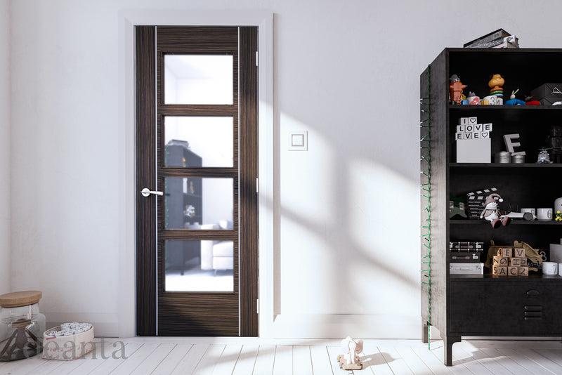 Deanta Abachi Calgary Glazed Fire Door