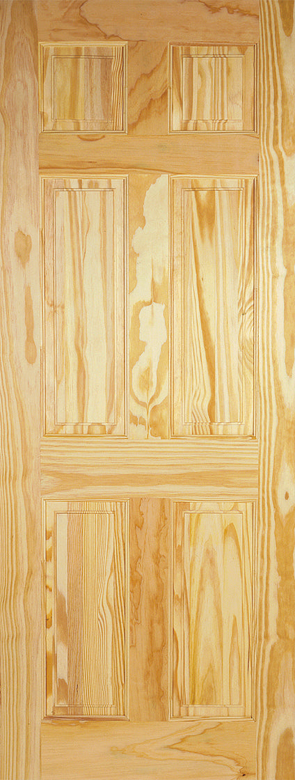 LPD 6 Panel Clear Pine