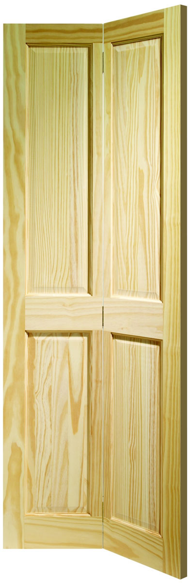 XL Joinery Clear Pine Victorian 4 Panel Bi Fold