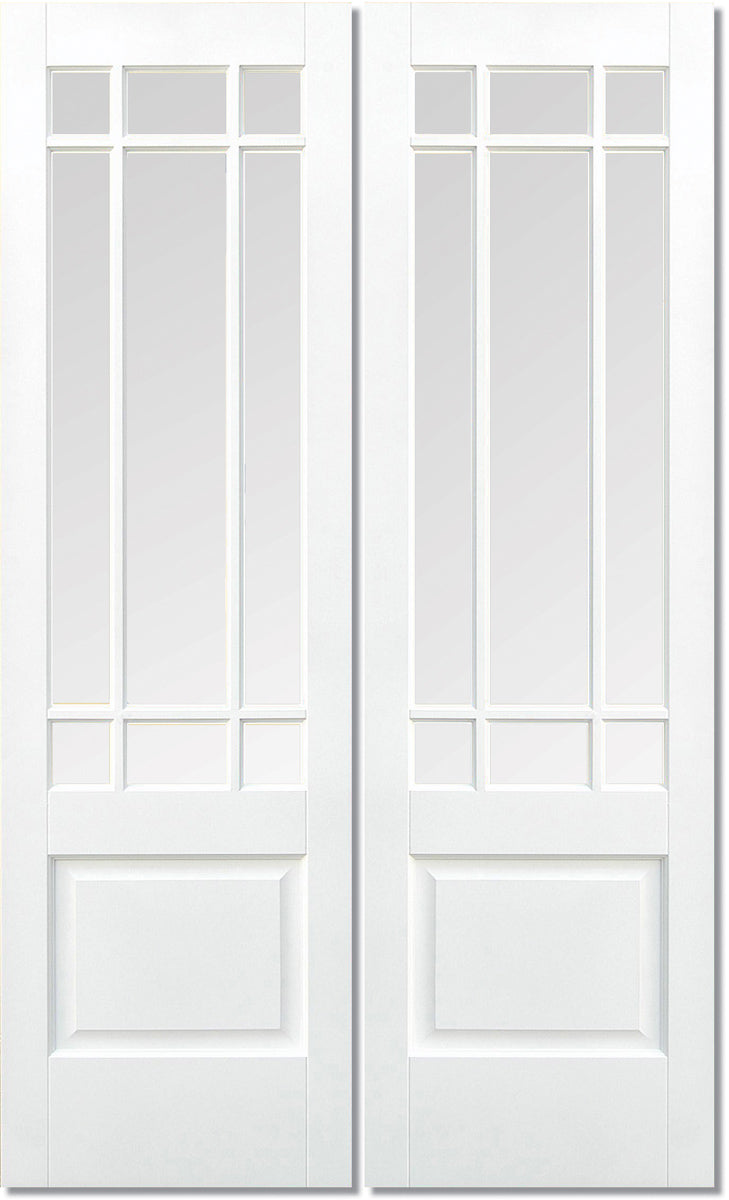 LPD Solid White Primed Downham Pair