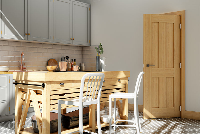 Deanta Oak Eton Fire Door