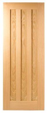 LPD Oak Idaho Prefinished Fire Door