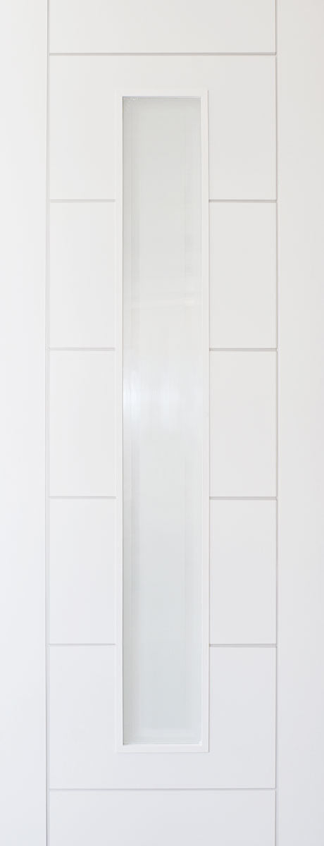 JB Kind Limelight White Primed Barbican Fire Door