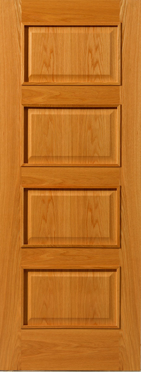 JB Kind R-04M Oak Fire Door