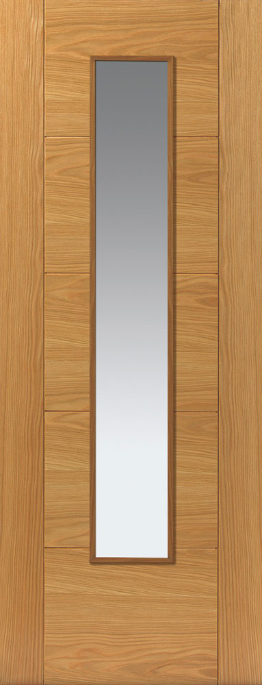 JB Kind River Oak Emral Fire Door