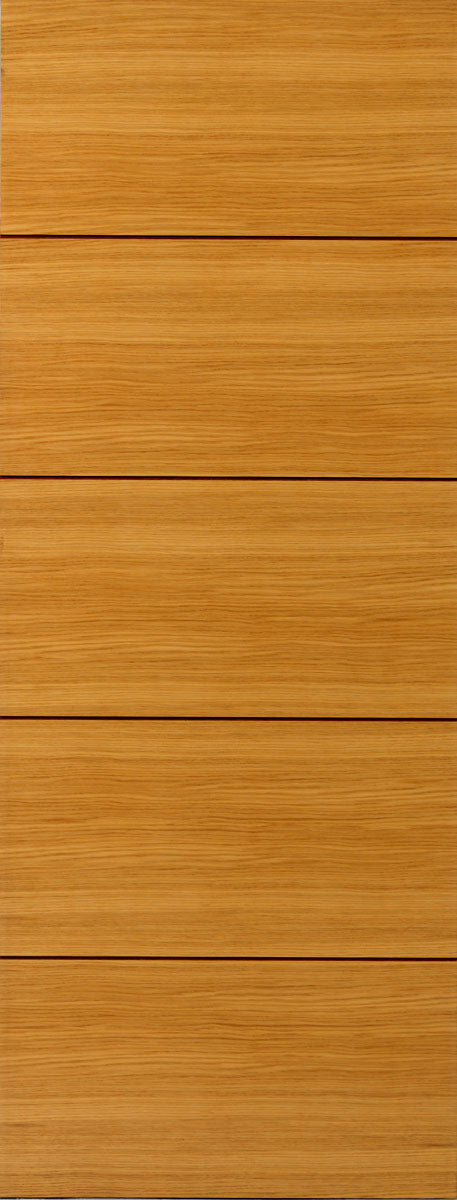 JB Kind Zodiac Flush Oak Aquarius Fire Door