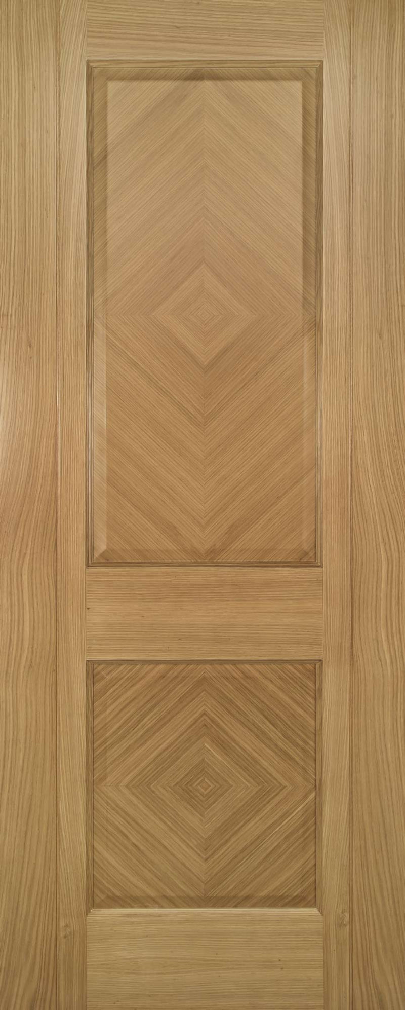 Deanta Oak Kensington Fire Door Pre-Finished