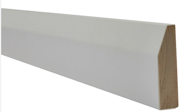 LPD White Primed Chamfered Architrave