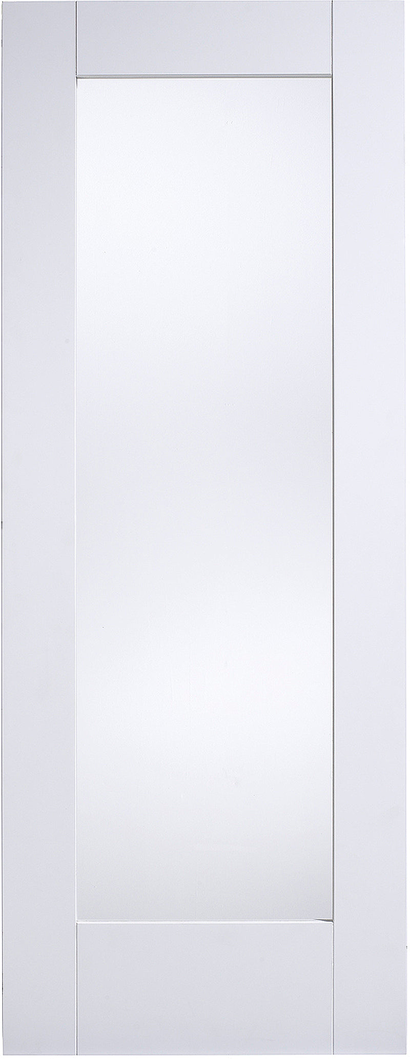LPD Solid White Primed Shaker 1L Clear Glazed