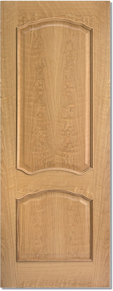 LPD Oak Louis RM Unfinished Fire Door