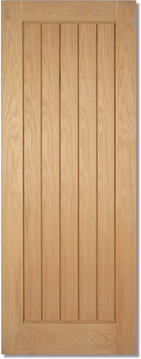 LPD Prefinished Oak Mexicano Fire Door