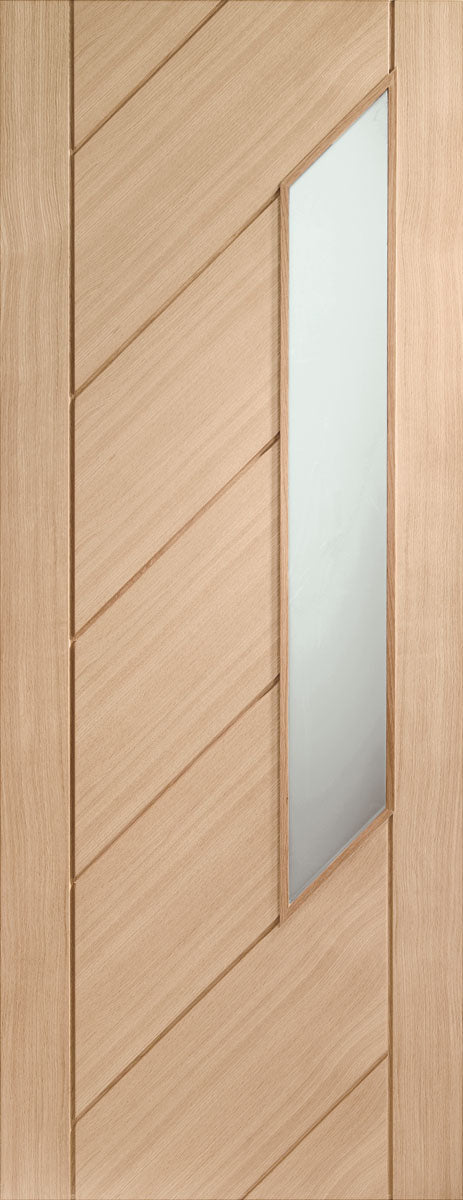 XL Joinery Oak Monza Obscure Glazed
