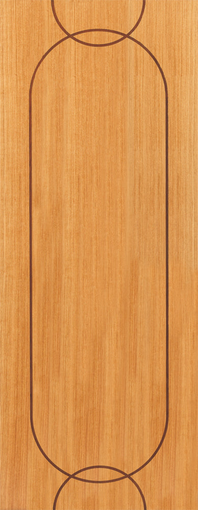 JB Kind Oak Agua Fire Door