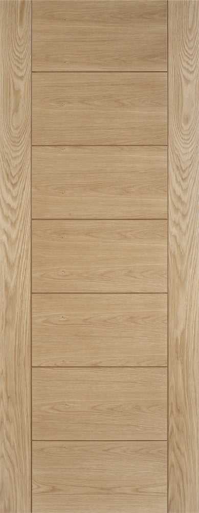 LPD Prefinished Oak Hampshire Fire Door