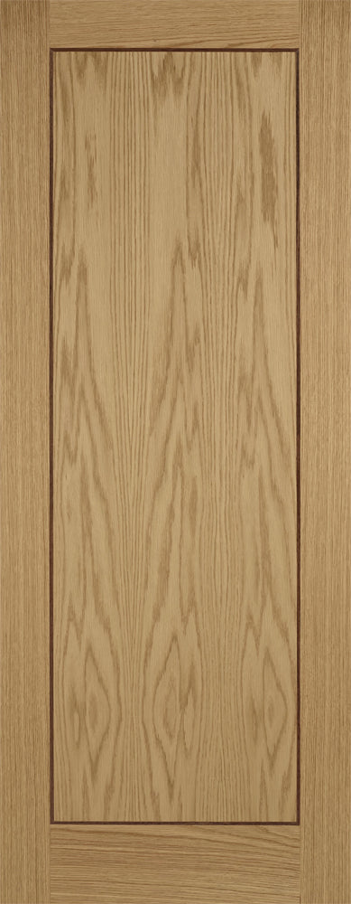 LPD Prefinished Oak Inlay 1P Fire Door