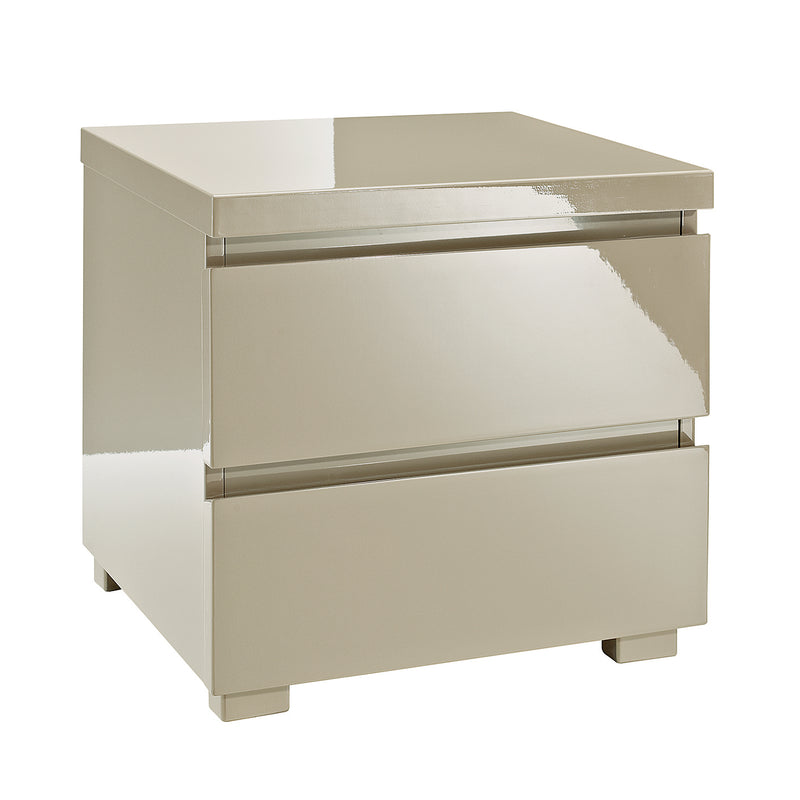 LPD Puro 2 Drawer Bedside