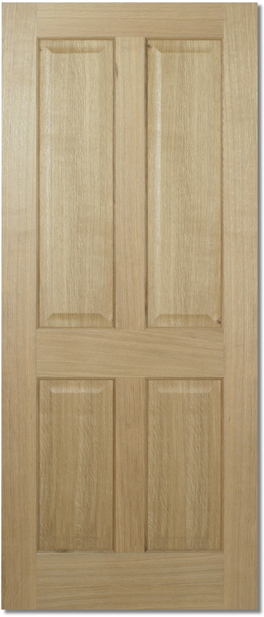 LPD Prefinished Oak Regency 4P Fire Door