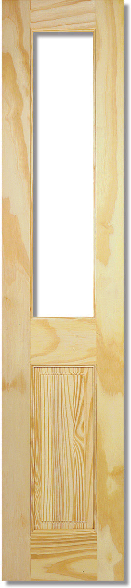 LPD Pine Richmond Clear Unglazed (Half Door)