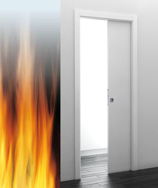 Eclisse Single Fire Rated Pocket Door System