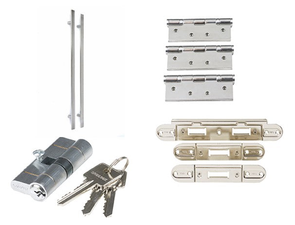 LPD Square Pull Handle Set