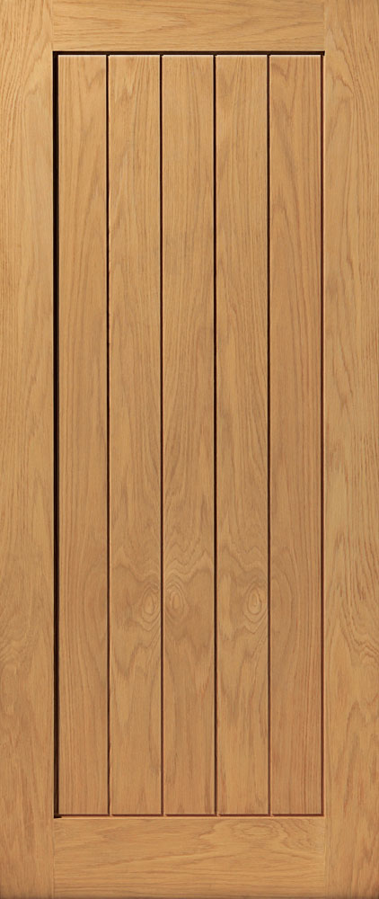 JB Kind River Oak Thames Fire Door