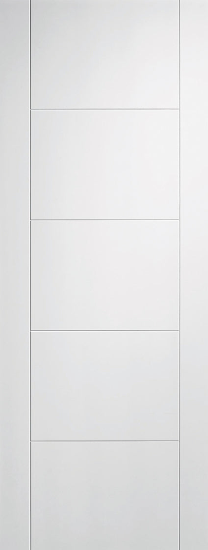 LPD Solid White Primed Vancouver FD60 Fire Door