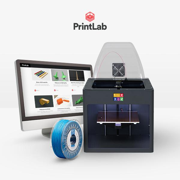 Craftbot Plus Pro PrintLab EDU bundle – single licence – Grey