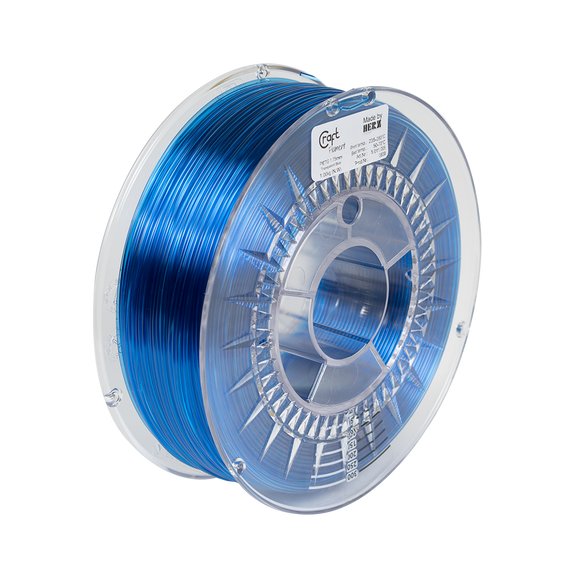 PET-G filament Transparent Blue 1kg