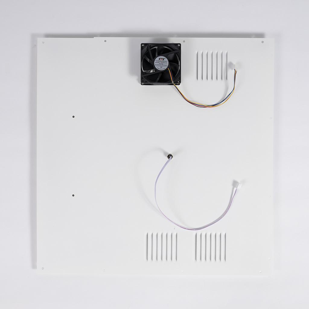 Craftbot Flow White Back Plate Assembly