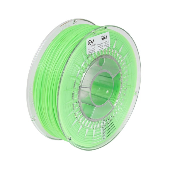 PLA filament Light Green 1kg