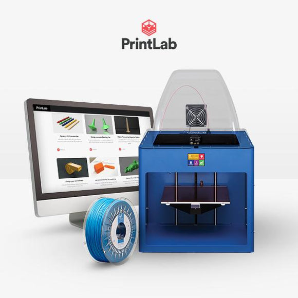 Craftbot Plus Pro PrintLab EDU bundle – single licence – Blue
