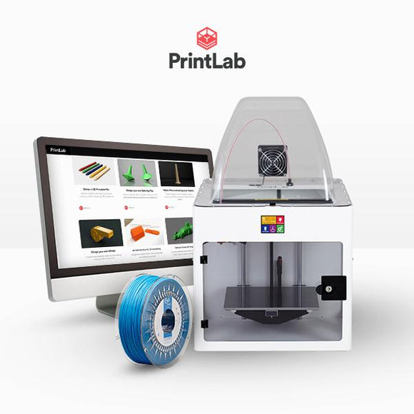 Craftbot Plus Pro PrintLab EDU bundle - Single licence– White
