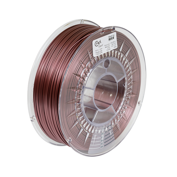 PET-G filament Metallic rosé 1kg